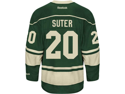Minnesota Wild Ryan Suter NHL Premier Player Jersey