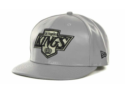 Los Angeles Kings NHL Leather Strapback 9FIFTY Cap Hats