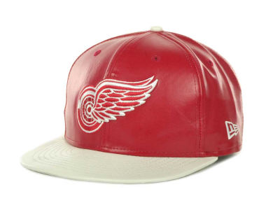 Detroit Red Wings NHL Leather Strapback 9FIFTY Cap Hats