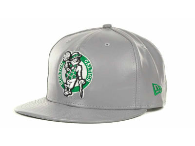 Boston Celtics NBA Hardwood Classics Leather Strapback 9FIFTY Cap Hats