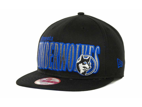 Minnesota Timberwolves New Era NBA Hardwood Classics Court Lines 9FIFTY Cap Hats