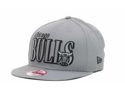 Chicago Bulls NBA Hardwood Classics Court Lines 9FIFTY Cap Hats