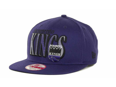 Sacramento Kings NBA Hardwood Classics Court Lines 9FIFTY Cap Hats