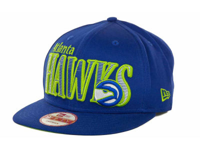 Atlanta Hawks NBA Hardwood Classics Court Lines 9FIFTY Cap Hats