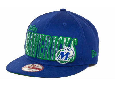 Dallas Mavericks NBA Hardwood Classics Court Lines 9FIFTY Cap Hats