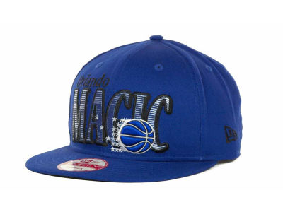 Orlando Magic NBA Hardwood Classics Court Lines 9FIFTY Cap Hats