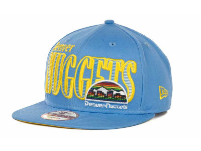 Denver Nuggets NBA Hardwood Classics Court Lines 9FIFTY Cap Hats