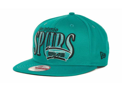 San Antonio Spurs NBA Hardwood Classics Court Lines 9FIFTY Cap Hats