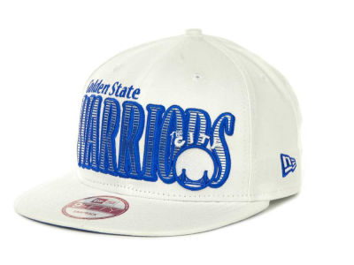 Golden State Warriors NBA Hardwood Classics Court Lines 9FIFTY Cap Hats