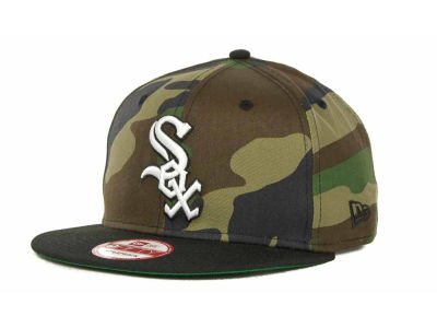 Chicago White Sox MLB Camoback Strapback 9FIFTY Cap Hats