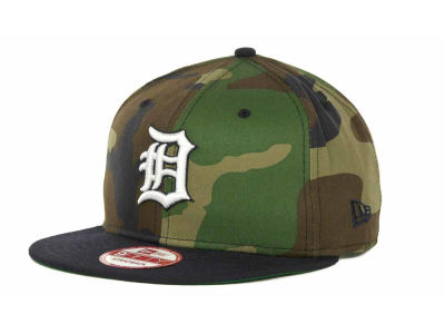Detroit Tigers MLB Camoback Strapback 9FIFTY Cap Hats