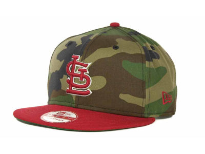 St. Louis Cardinals MLB Camoback Strapback 9FIFTY Cap Hats