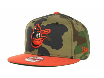Baltimore Orioles MLB Camoback Strapback 9FIFTY Cap Hats