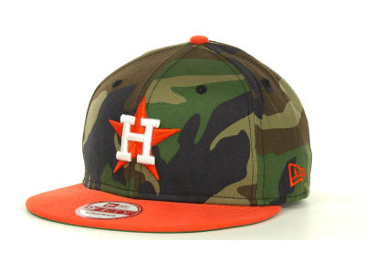 Houston Astros MLB Camoback Strapback 9FIFTY Cap Hats