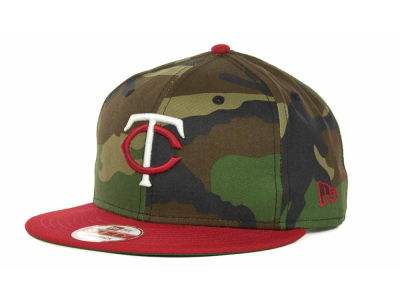 Minnesota Twins MLB Camoback Strapback 9FIFTY Cap Hats