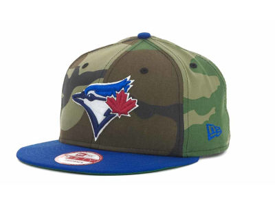 Toronto Blue Jays MLB Camoback Strapback 9FIFTY Cap Hats