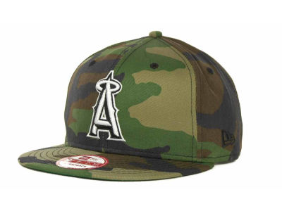 Los Angeles Angels of Anaheim MLB Camoback Strapback 9FIFTY Cap Hats