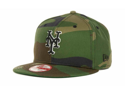 New York Mets MLB Camoback Strapback 9FIFTY Cap Hats