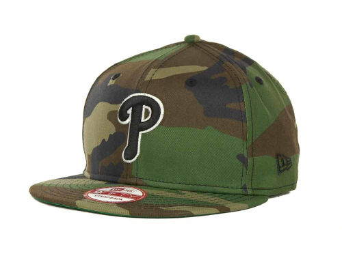 Philadelphia Phillies New Era MLB Camoback Strapback 9FIFTY Cap Hats