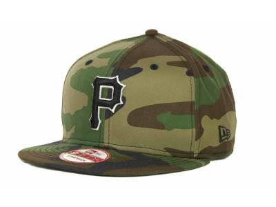 Pittsburgh Pirates MLB Camoback Strapback 9FIFTY Cap Hats