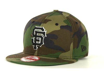 San Francisco Giants MLB Camoback Strapback 9FIFTY Cap Hats