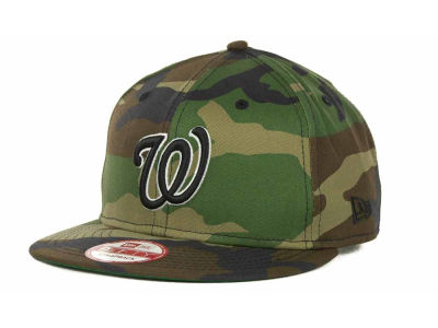 Washington Nationals MLB Camoback Strapback 9FIFTY Cap Hats