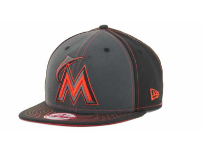 Miami Marlins MLB StrapInPop Strapback 9FIFTY Cap Hats