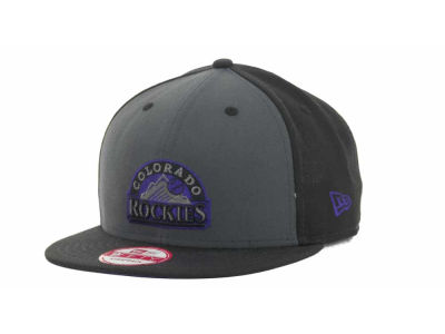 Colorado Rockies MLB StrapInPop Strapback 9FIFTY Cap Hats