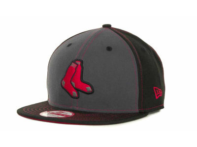 Boston Red Sox MLB StrapInPop Strapback 9FIFTY Cap Hats