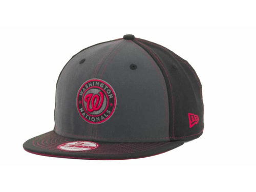 Washington Nationals New Era MLB StrapInPop Strapback 9FIFTY Cap Hats