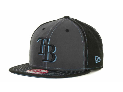 Tampa Bay Rays New Era MLB StrapInPop Strapback 9FIFTY Cap Hats