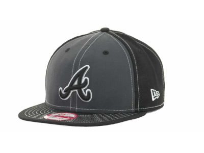 Atlanta Braves MLB StrapInPop Strapback 9FIFTY Cap Hats