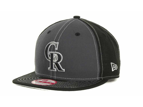 Colorado Rockies New Era MLB StrapInPop Strapback 9FIFTY Cap Hats
