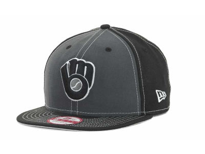 Milwaukee Brewers MLB StrapInPop Strapback 9FIFTY Cap Hats