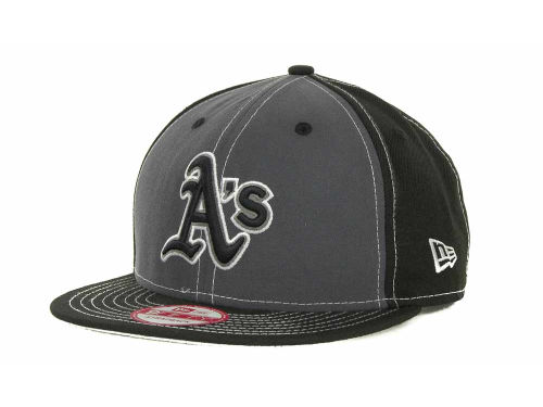 Oakland Athletics New Era MLB StrapInPop Strapback 9FIFTY Cap Hats