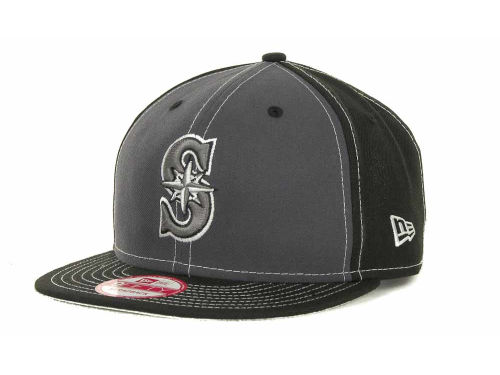 Seattle Mariners New Era MLB StrapInPop Strapback 9FIFTY Cap Hats