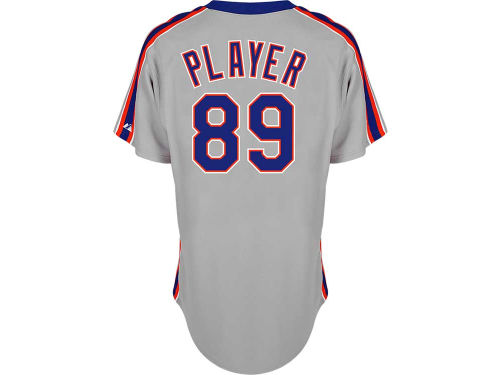 New York Mets Majestic MLB CB Authentic On-Field Jersey