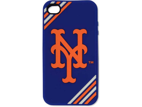 New York Mets Forever Collectibles IPhone 4 Case Silicone Logo