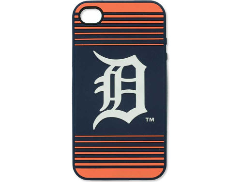Detroit Tigers IPhone 4 Case Silicone Logo