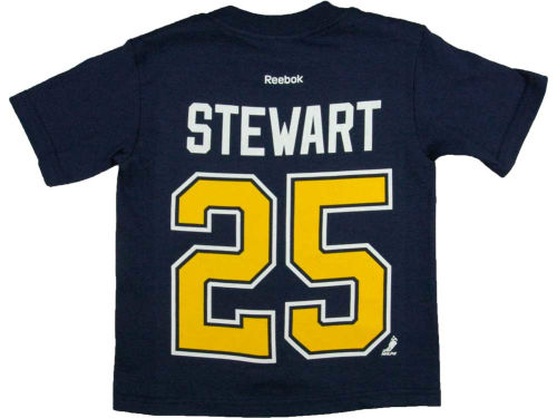 St. Louis Blues Chris Stewart Outerstuff NHL Toddler Player T-Shirt