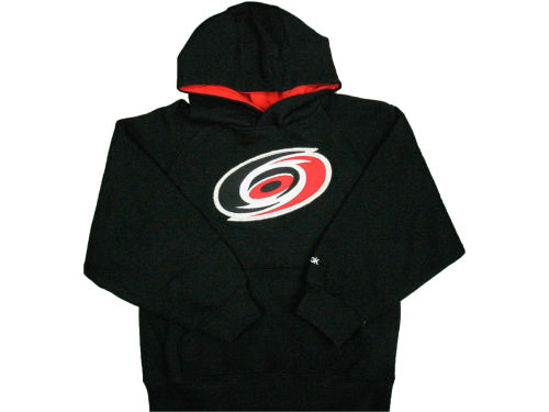 Carolina Hurricanes Outerstuff NHL Kids Sportsman Pullover Fleece Hoodie