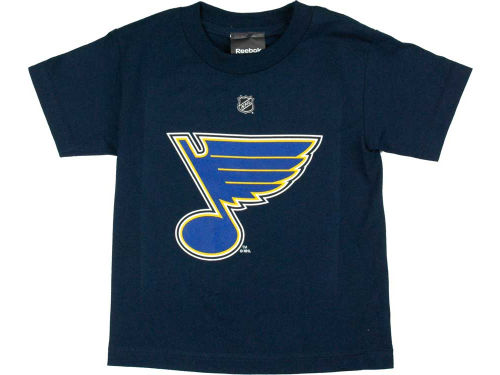 St. Louis Blues Chris Stewart Reebok NHL Kids Player T-Shirt