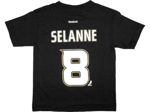 Anaheim Ducks Teemu Selanne Reebok NHL Kids Player T-Shirt