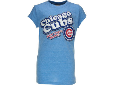 Chicago Cubs MLB Girls Bubble Gel T-Shirt