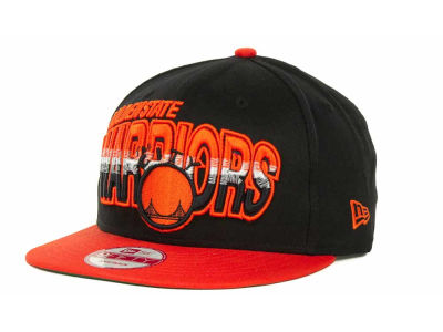 Golden State Warriors NBA Hardwood Classics Split Line Snapback 9FIFTY Cap Hats