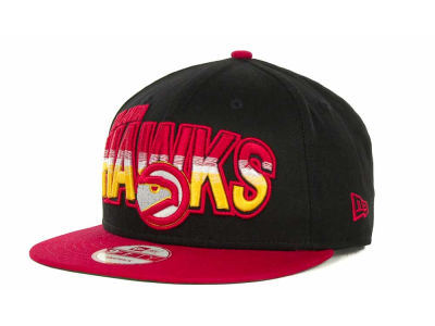 Atlanta Hawks NBA Hardwood Classics Split Line Snapback 9FIFTY Cap Hats