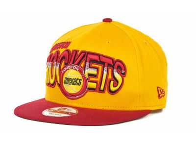 Houston Rockets NBA Hardwood Classics Split Line Snapback 9FIFTY Cap Hats