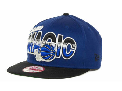 Orlando Magic NBA Hardwood Classics Split Line Snapback 9FIFTY Cap Hats