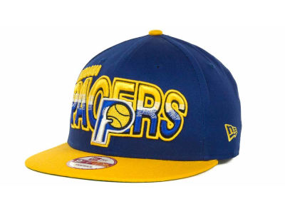 Indiana Pacers NBA Hardwood Classics Split Line Snapback 9FIFTY Cap Hats