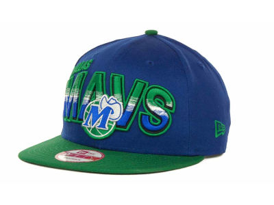 Dallas Mavericks NBA Hardwood Classics Split Line Snapback 9FIFTY Cap Hats